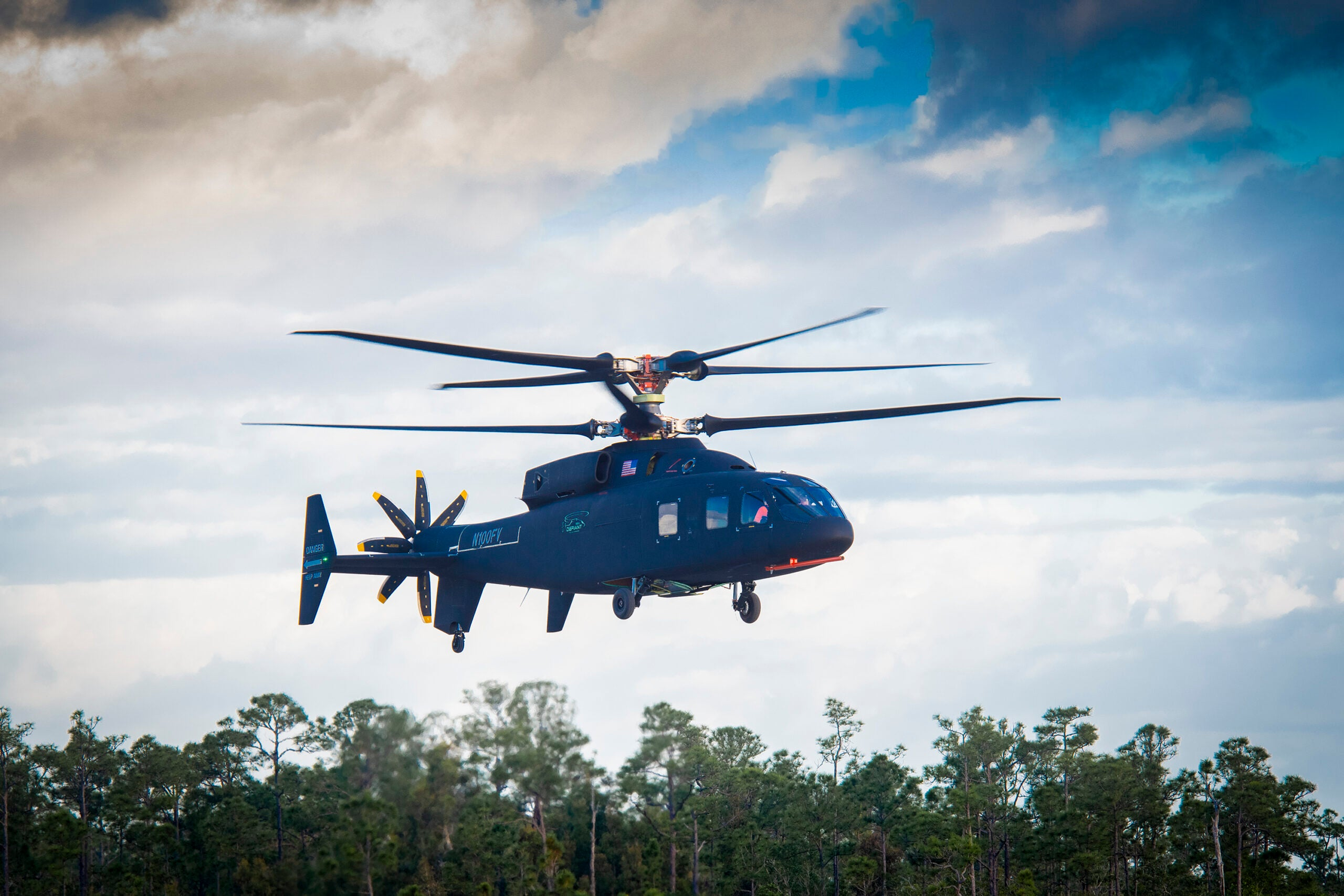 Dual rotors could make the Defiant one of the world's fastest helicopters