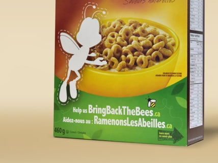 Buzz Is Disappearing From 'Honey Nut Cheerios' Boxes