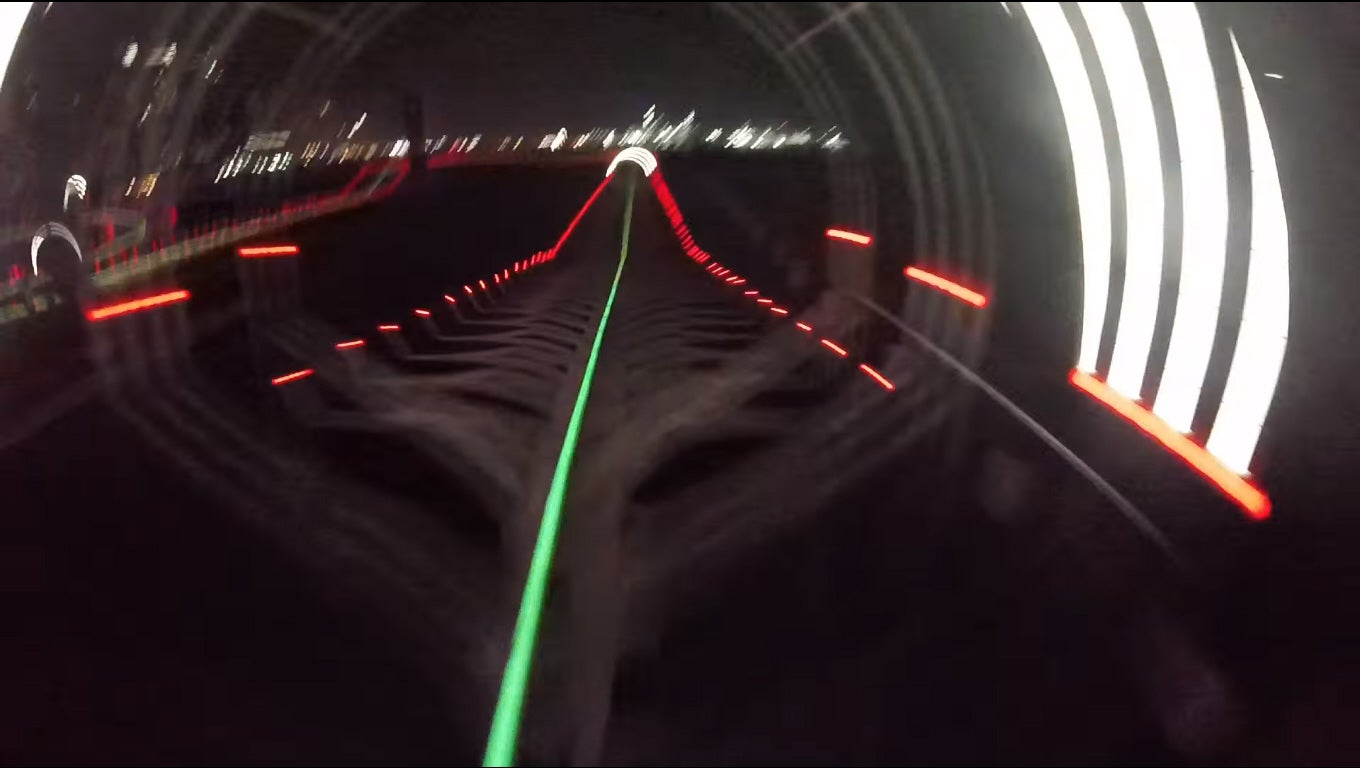 What It's Like To Fly Through Dubai's Drone Prix Racecourse