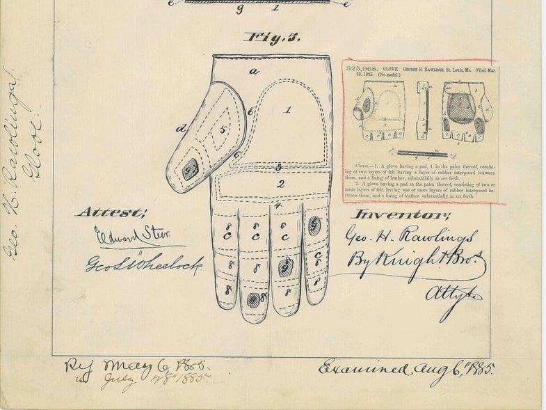Glove patent design