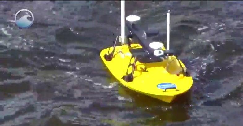 NOAA's Tiny Boat Drones Map The Ocean's Shallow Floors