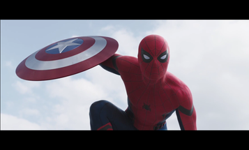 Spider-Man Hits The Web In New 'Civil War' Trailer