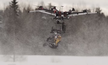 Finnish Filmmakers Gave A Drone A Chainsaw