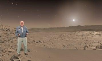 New NASA Exhibit Lets You Virtually Tour Mars With Buzz Aldrin