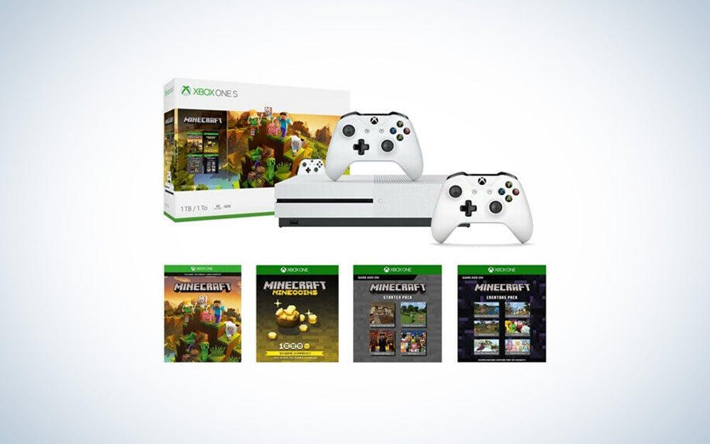 Xbox One S and Minecraft Creators Bundle
