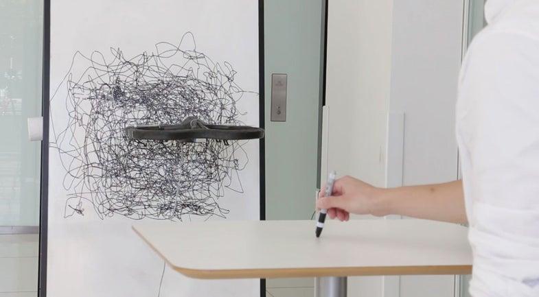 Sketchy MIT Drone Draws As It Flies
