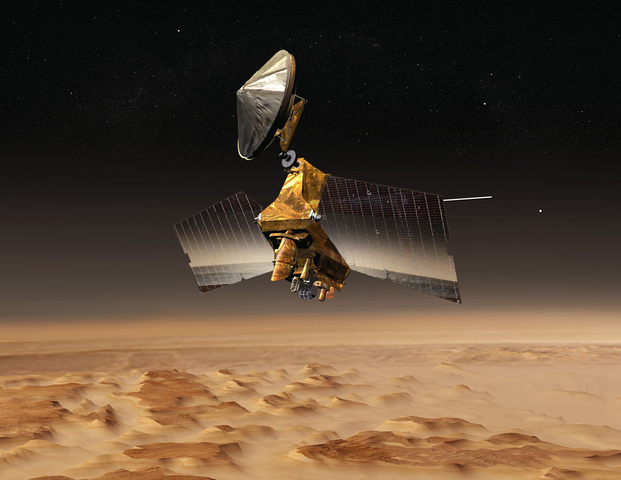 The Mars Reconnaissance Orbiter Has Been Exploring Mars For 10 Years