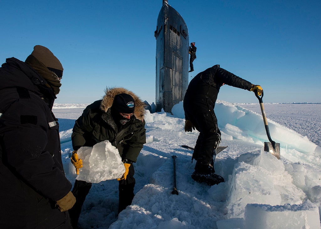 How Many Submarines Does It Take To Break The Ice?