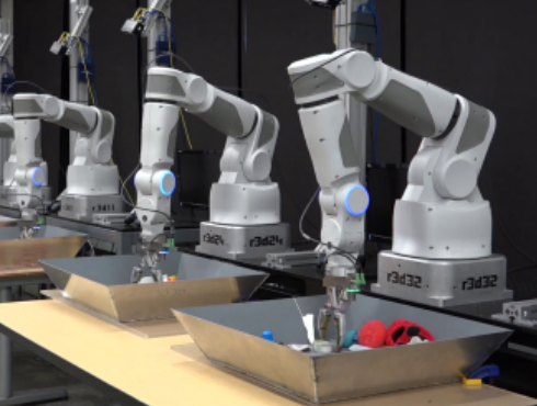 Google's Robots Are Learning How To Pick Things Up