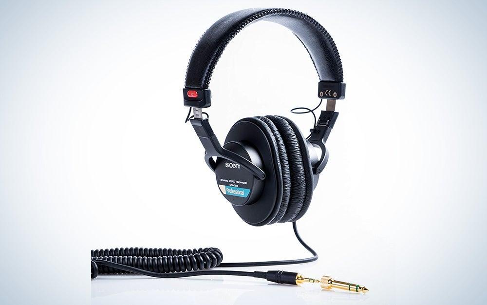 Sony large-diaphragm MDR7506 headphones