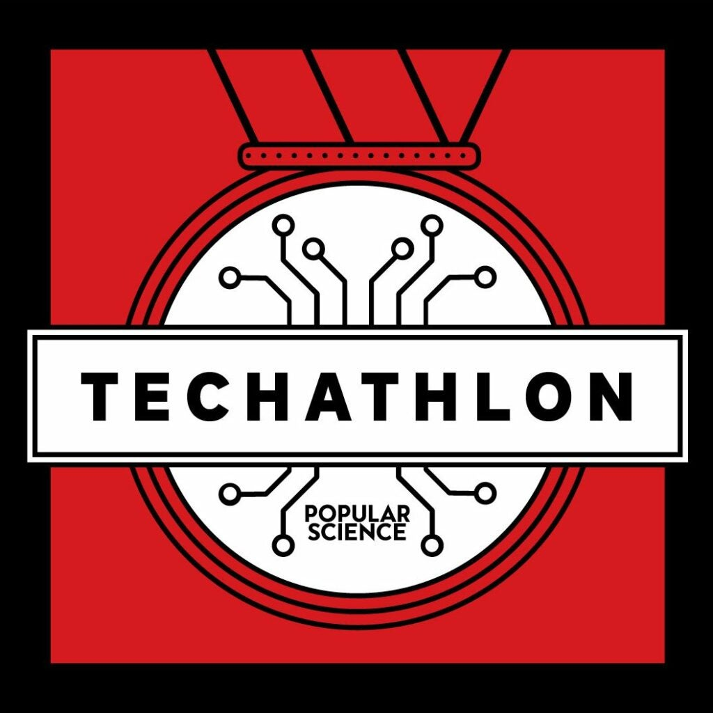 Techathlon Podcast Logo