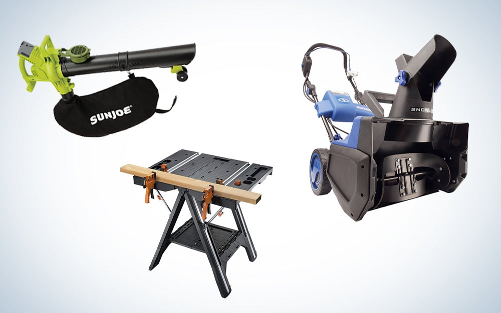 WORX and Sun Joe backyard tools