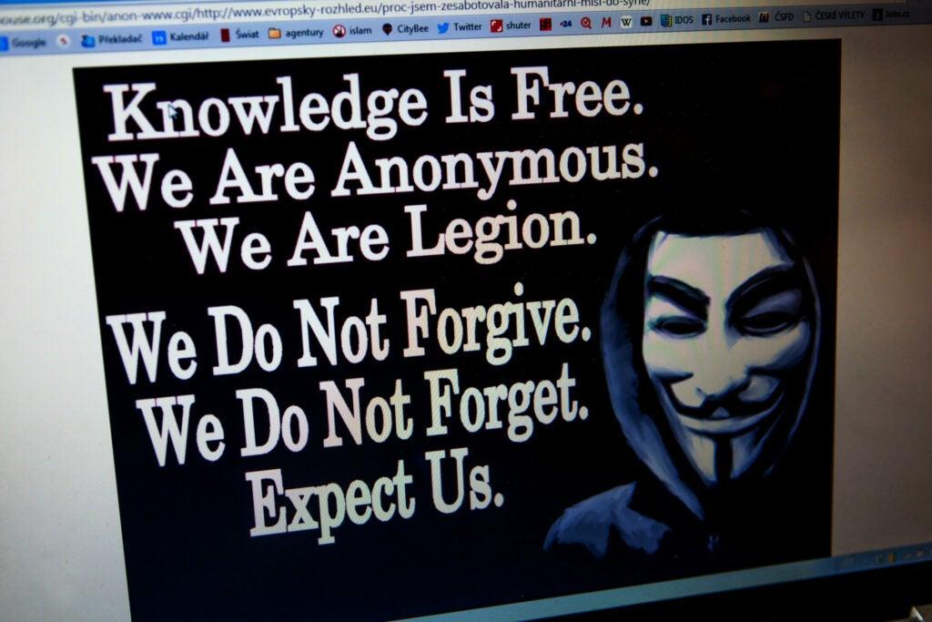 """""""anonymous"""