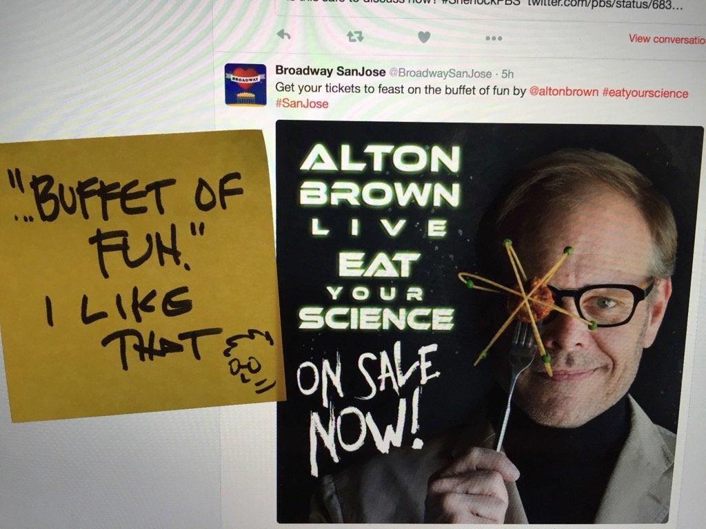 Alton on twitter