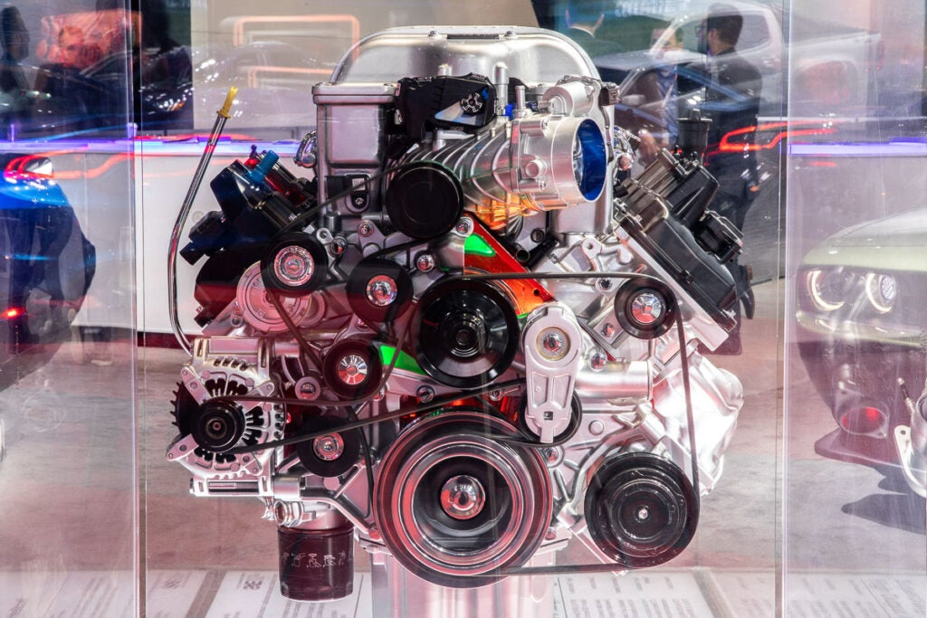 Dodge Hellcat Engine