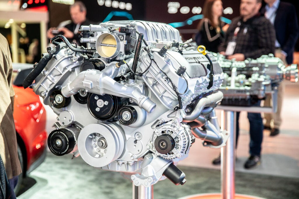 Ford GT 500 Engine