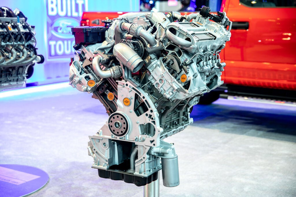 Ford Super Duty 6.2L Power Stroke Diesel Engine