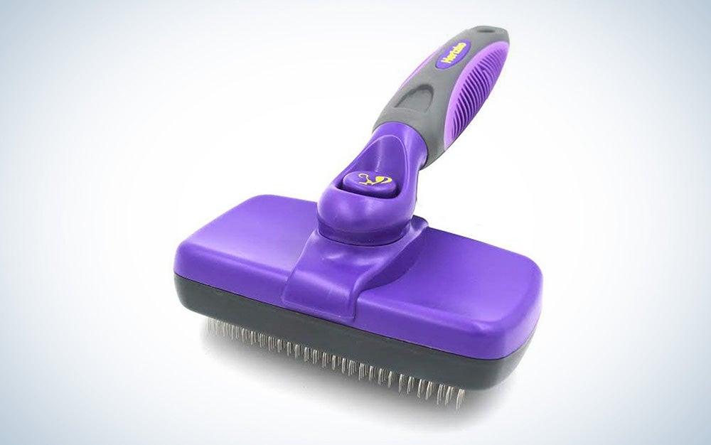 Hertzko Self cleaning slicker bursh