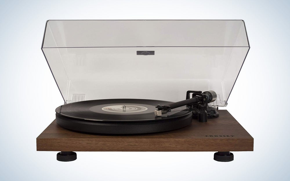 Crosley C6 Belt-Drive Turntable with Built-in Preamp
