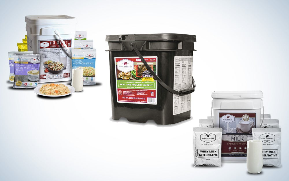 Wise Company Survival food kits