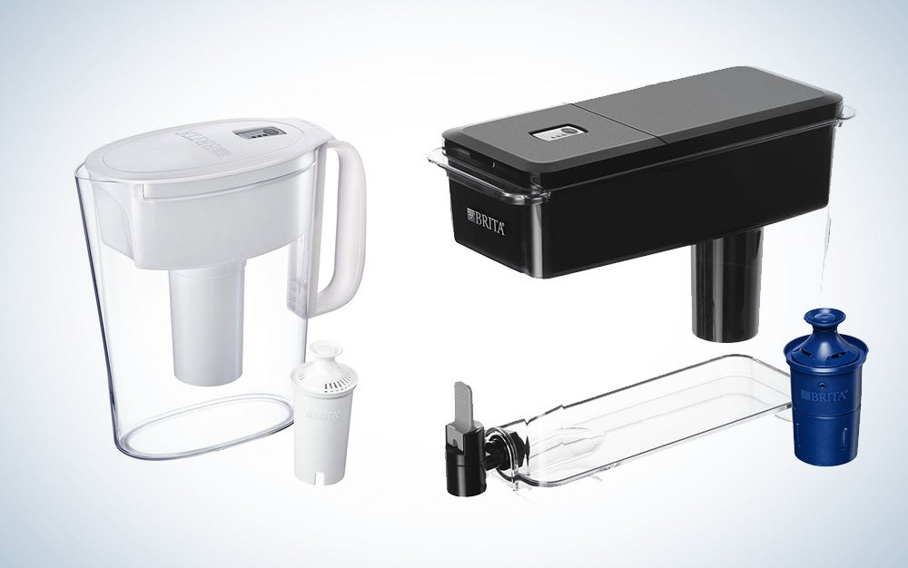 Brita water filters and dispensers