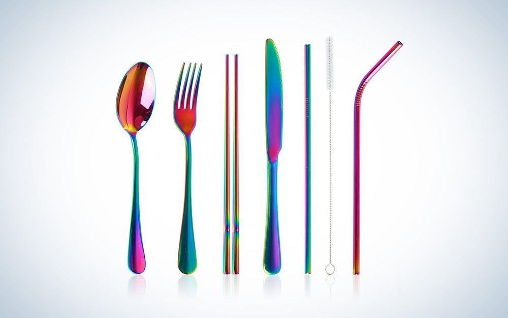 Vker rust-resistant utensil set