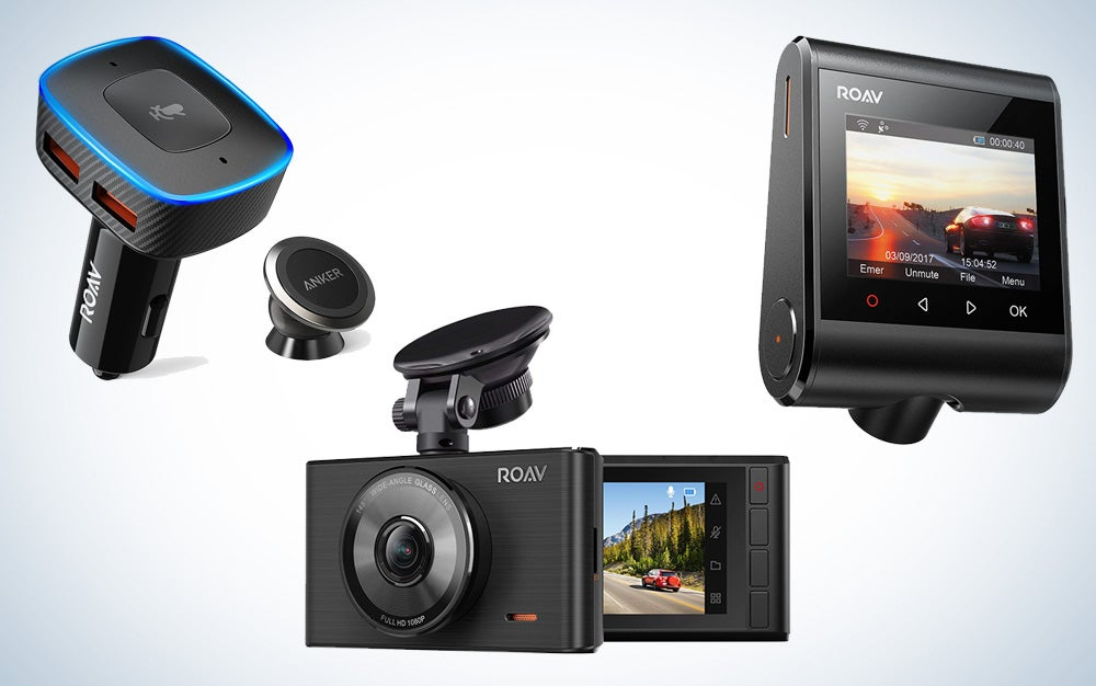 Roav dash cams and car phone chargers