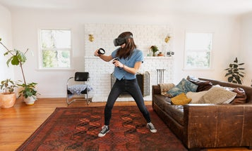 Oculus Quest brings your real-world motion into VR. Here's what that's like.