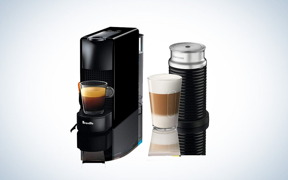 Nespresso and Breville Aeroccino frother bundle