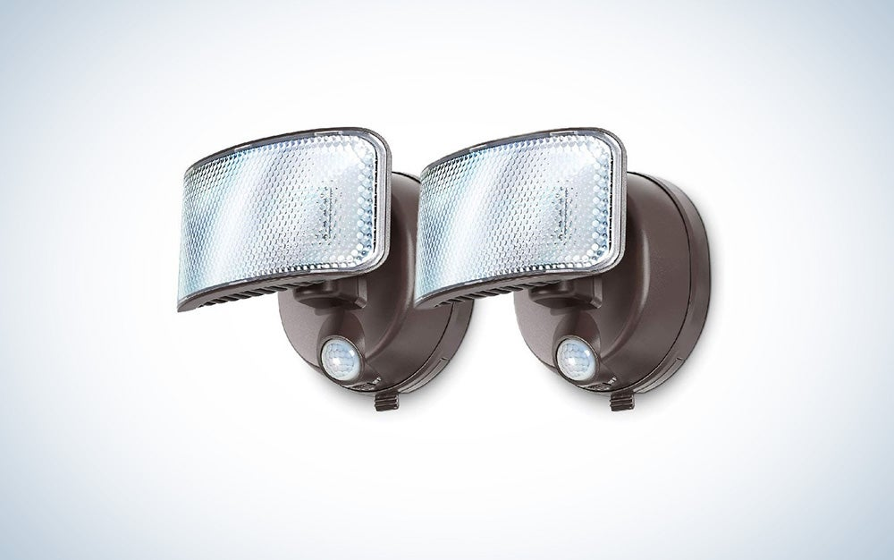 Motion-activated security light