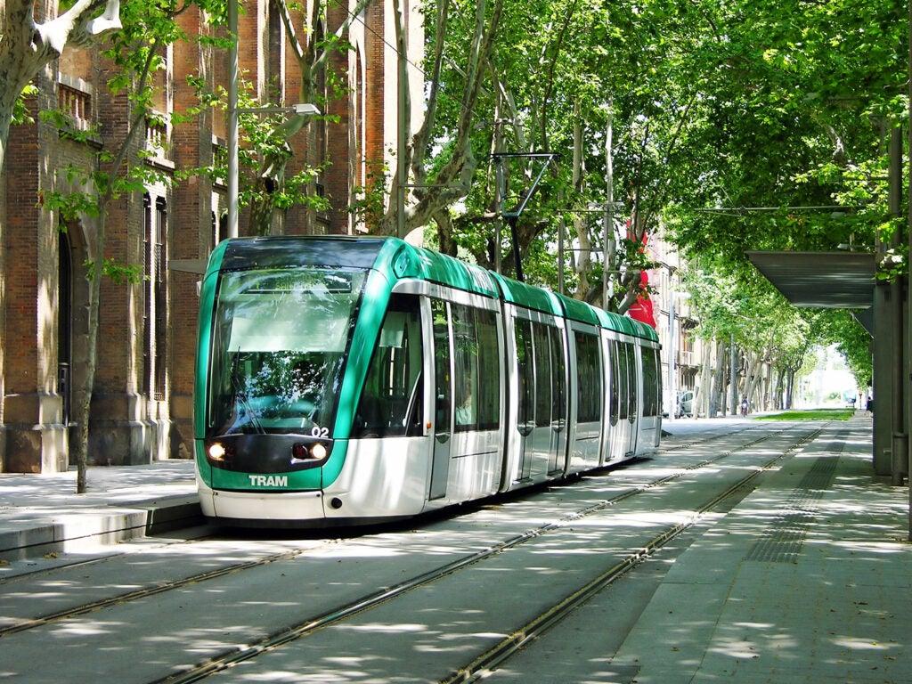 electric public transportation