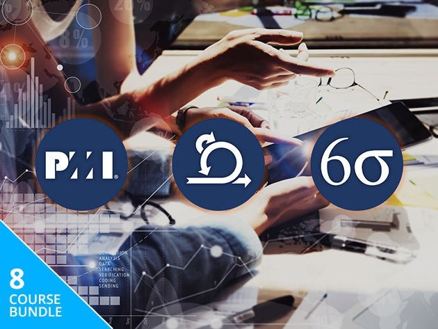 Master the methods of project management with this huge training bundle