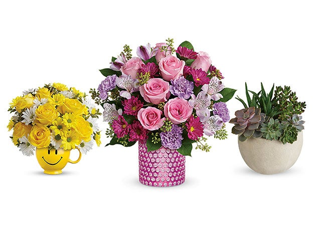Treat your mom to a gorgeous bouquet this Mother's Day with Teleflora
