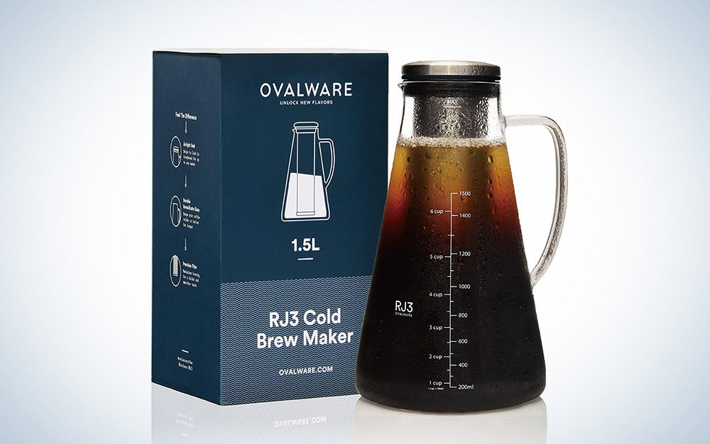 Ovalware iced coffee maker
