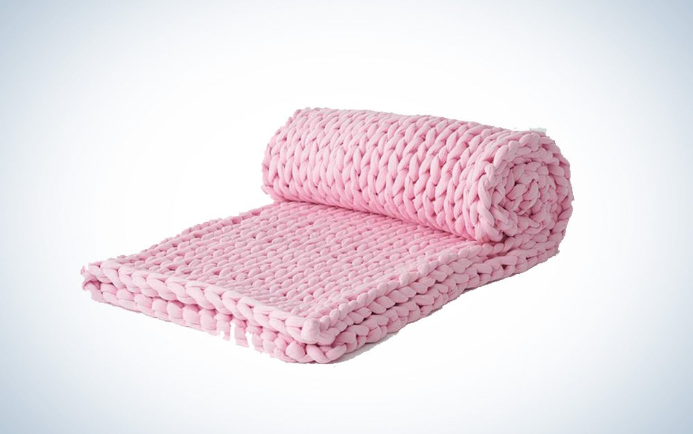 Napper weighted blanket by Bearaby