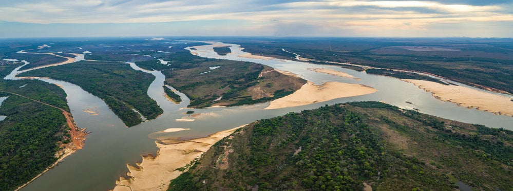 Most large rivers don't flow freely anymore