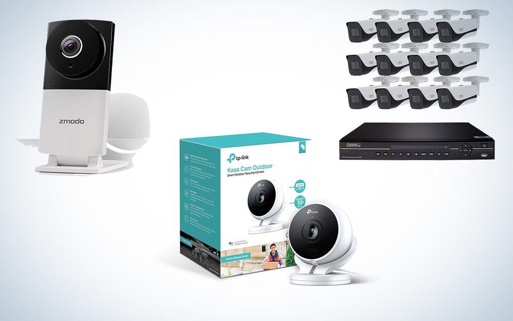 Home security camera savings