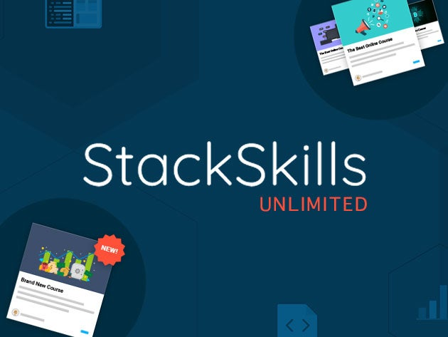 Get access to more than 1,000 coding and creative courses with StackSkills