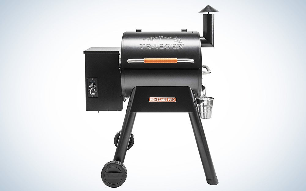 Traeger Renegade Pro pellet grill and smoker