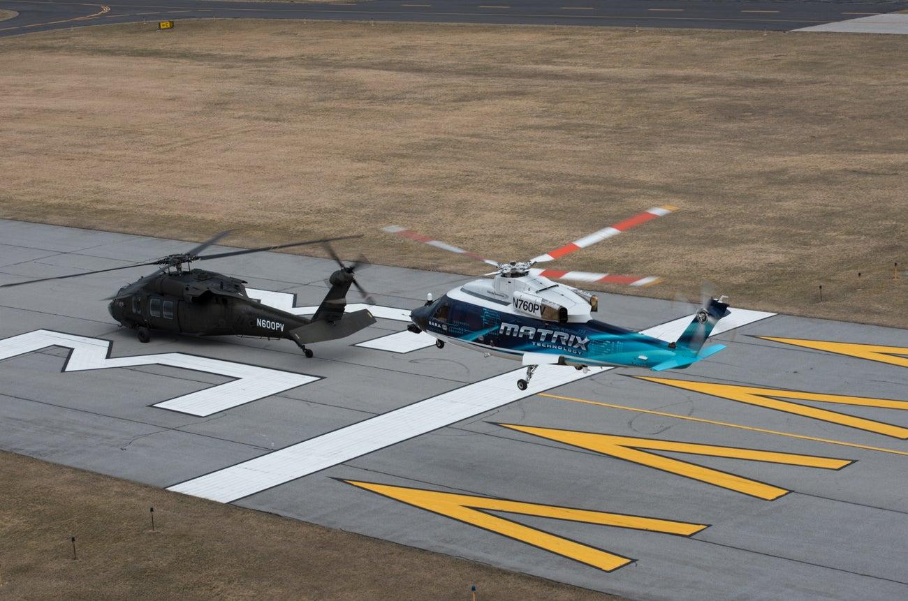 Black Hawk helicopters have a flight plan to go autonomous