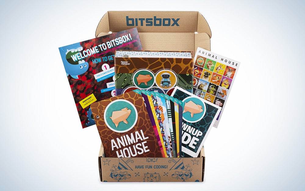 STEM Bitsbox coding subscription boxes