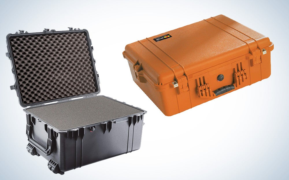 Pelican cases to protect your gear