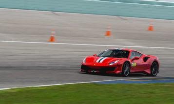 Inside the 2019 Ferrari Pista, a supercar built for the racetrack