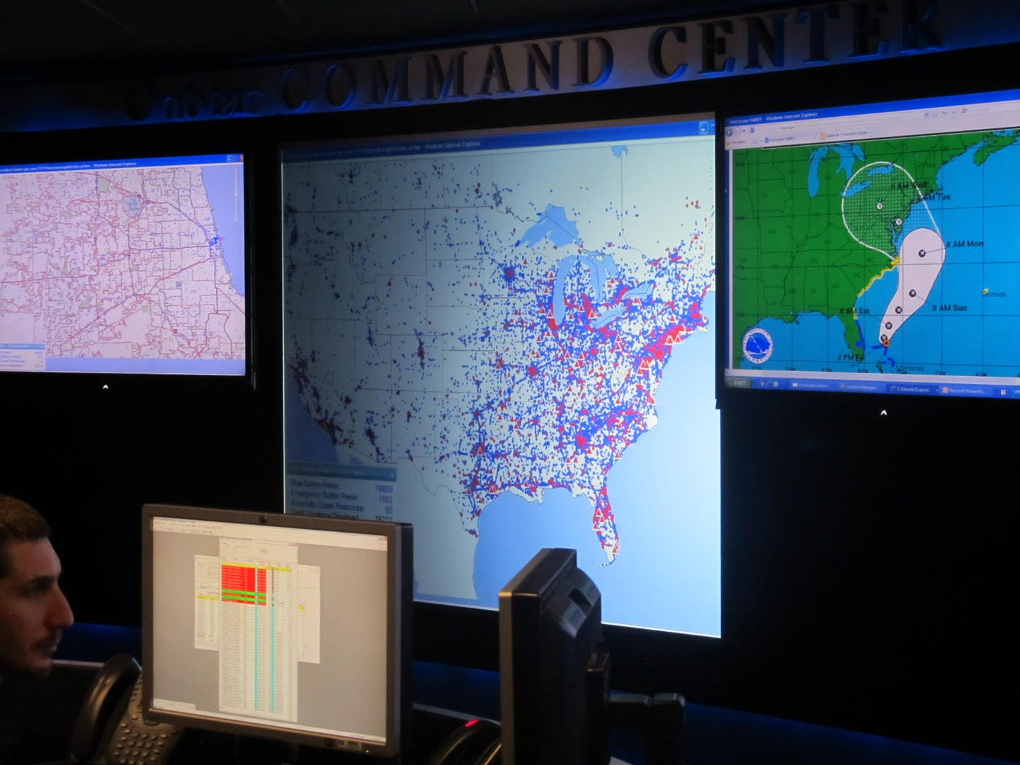 How OnStar's connected emergency service adapts during a disaster