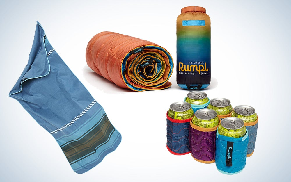 Rumpl deals on outdoor blankets, towels, and ground covers