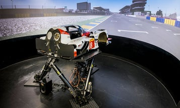 Inside the racing simulators drivers use for realistic training