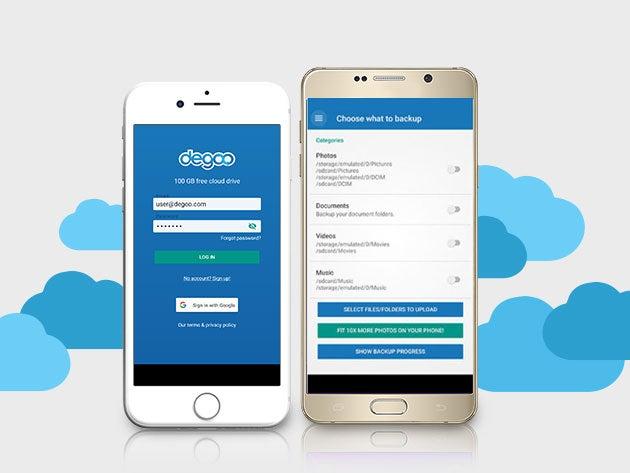 Hate iCloud? Degoo makes Cloud storage easy and affordable