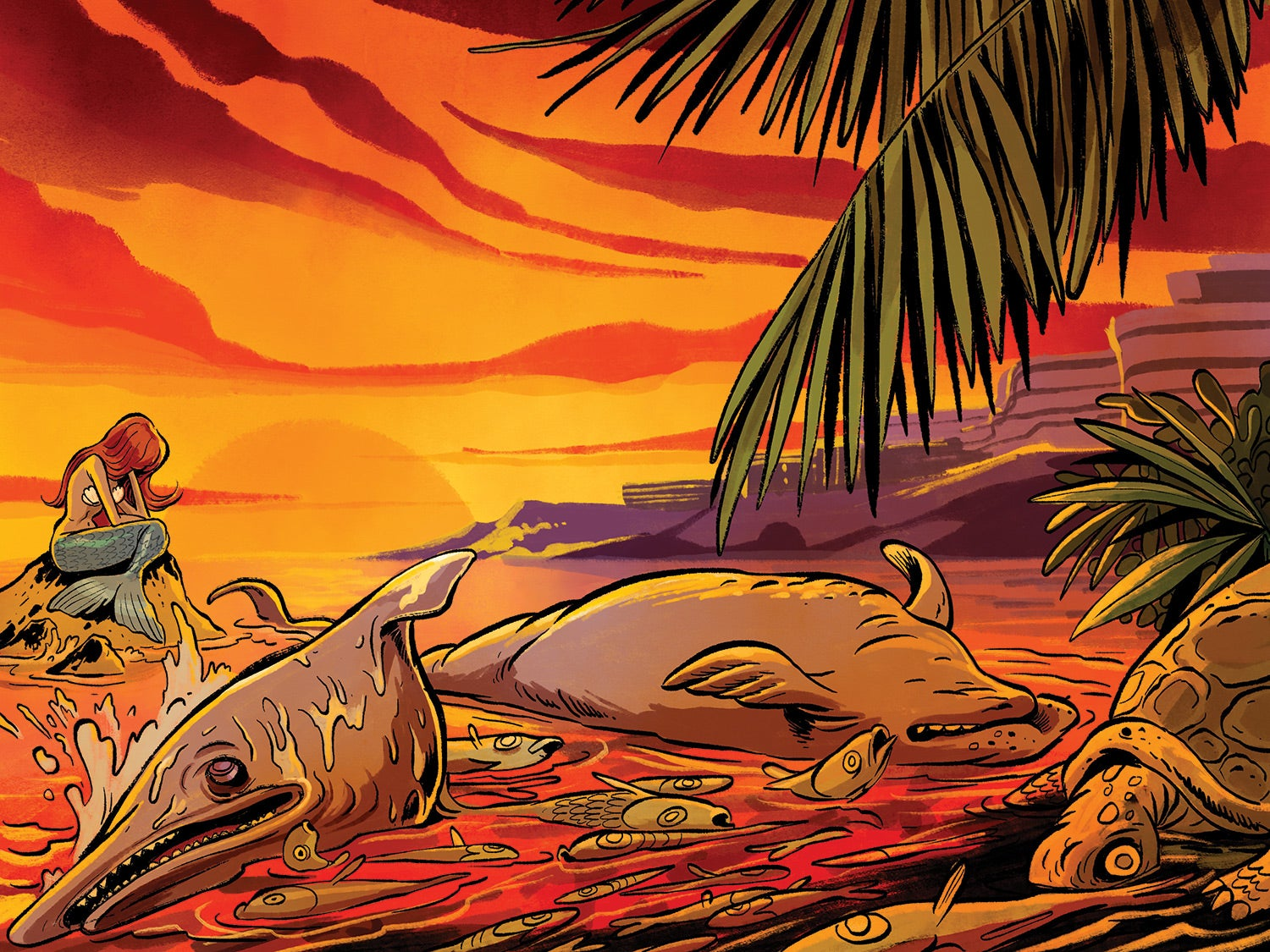 A red tide devastated Florida marine life for 16 months. Why?