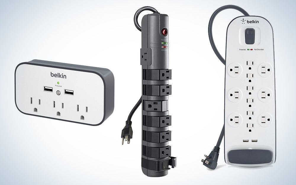 Belkin surge protectors and power strips