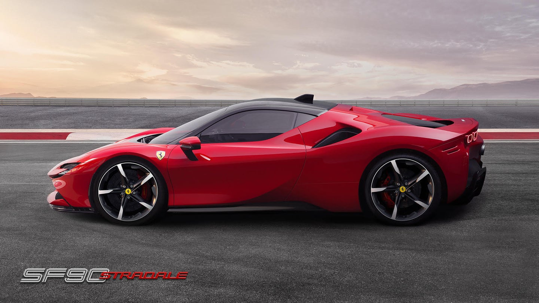 Ferrari's fastest production car is an electric hybrid